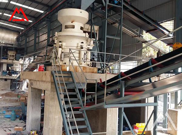 300tph Iron ore crushing plant